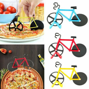 Bike-Pizza-Cutter-Road-Bicycle-Chopper-Slicer-Kitchen-Tool-Stainless-Steel