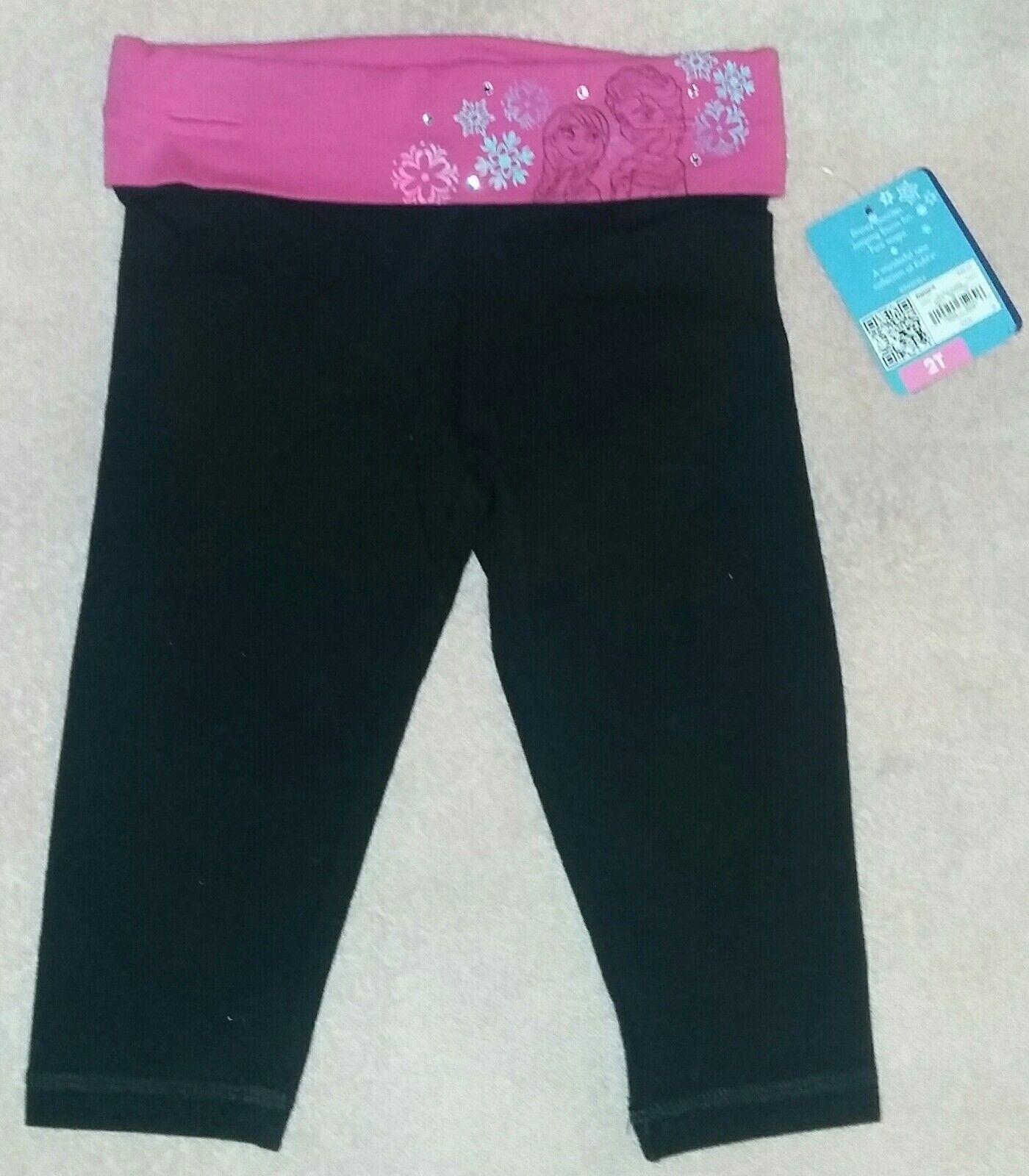 NEW Jumping Beans Toddler Girl Long Jegging Pants Cheetah Print Black /& White 4T