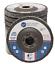"50 Pack 4.5"" x 7//8/"" Jumbo 60 Grit Zirconia Flap Disc Grinding Wheels T29"