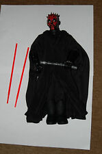 "Darth Maul 12"" Figure-Hasbro-Star Wars 1/6 Scale Customize Side Show"