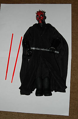 "Darth Maul 12/"" Figure-Hasbro-Star Wars 1//6 Scale Customize Side Show"