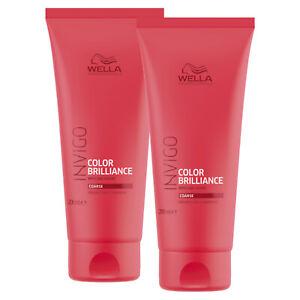 WELLA INVIGO COLOR BRILLIANCE Conditioner Coarse für kräftiges Haar 2x 200 ml