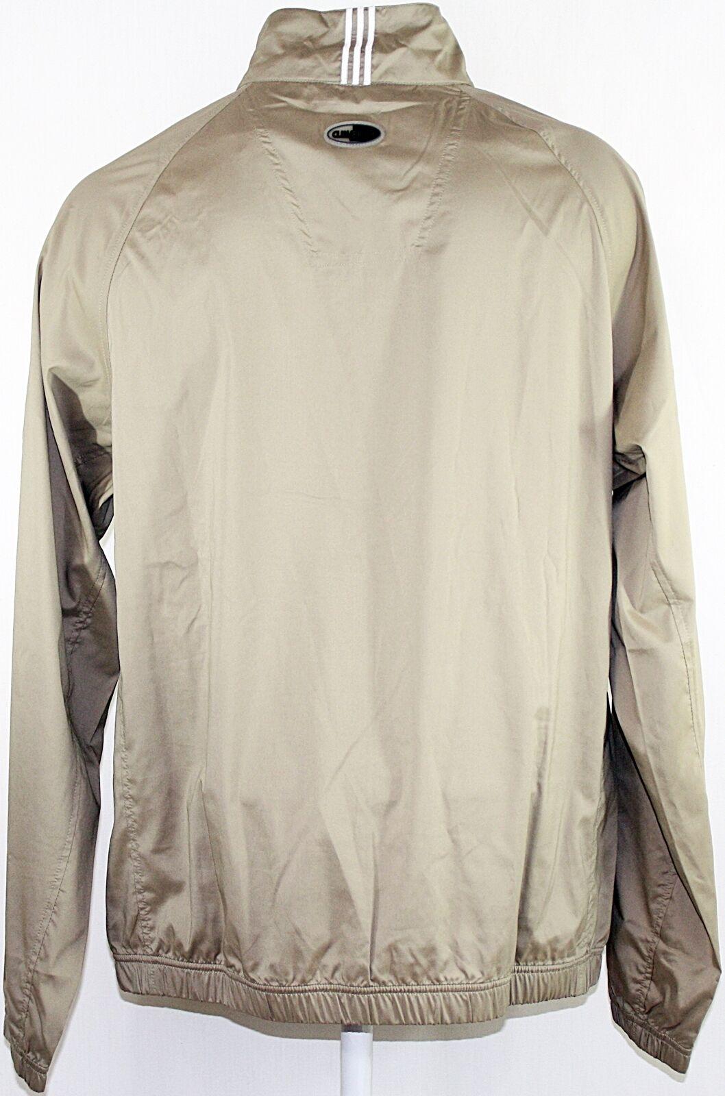 ADIDAS  Men Windbreaker MCIP WndLS1 WndLS1 WndLS1 2 Zip  Khaki Weiß  Gr. Medium | Starke Hitze- und Abnutzungsbeständigkeit  12048c