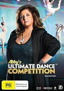 Abby-039-s-Ultimate-Dance-Competition-Season-2-DVD-NEW-Region-4-Australia