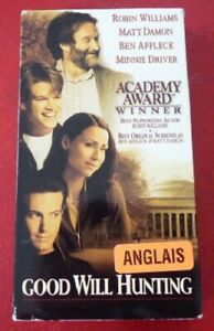 VHS-Movie-Good-Will-Hunting-Robin-Williams-Matt-Damon