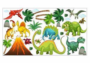 Details zu nikima 017 Wandtattoo Dinosaurier T-Rex in 6. Größen  Kinderzimmer Junge