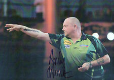 ANDY HAMILTON Signed 12x8 Photo DARTS LEGEND COA