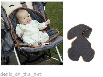 Genuine Sheepskin Liner Fur Wool Pram Stroller Car Seat Baby Children Buggy