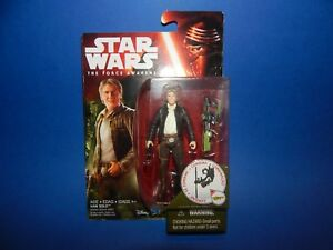 Star Wars EP 7 The Force Awakes Han Solo 3.75 Figure