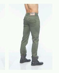 i p Collection Jeans oliva uomo moda By verde attillato Pantalone attillato V fzqAOPvcg
