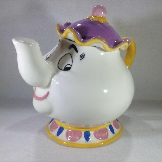 Treasure Craft Disneys Beauty And The Beast Mrs Potts Cookie Jar