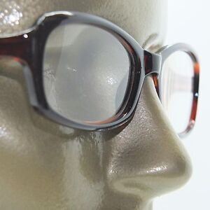 Reading-Glasses-Edgy-Twisted-Rope-Side-Chunky-Brown-Frame-Readers-2-50-strength