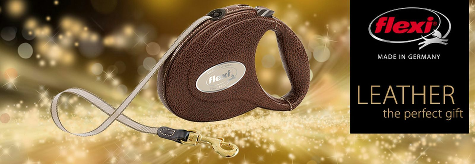 1 flexi Luxury Leder-Gurt-Leine Leder-Gurt-Leine Leder-Gurt-Leine bis 25 kg 5 Meter Exklusive Leine in schwarz    Großer Verkauf  94fb7b
