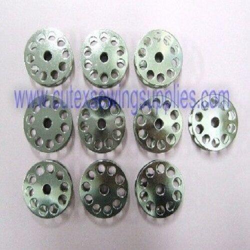 10 Large Steel Bobbins Consew 744R /& 745R Sewing Machines Bobbin #70141