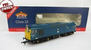 OO Gauge Bachmann 32-404DS DCC SOUND Class 25 276 BR Blue Loco