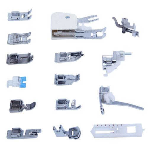 Kit 15 Piedini Universali Set per Macchina Macchine da per Cucire Necchi
