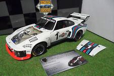 PORSCHE 935 TURBO Martini WORLD CHAMPION 1976 6H DIJON ICKX 1/18 EXOTO 18104