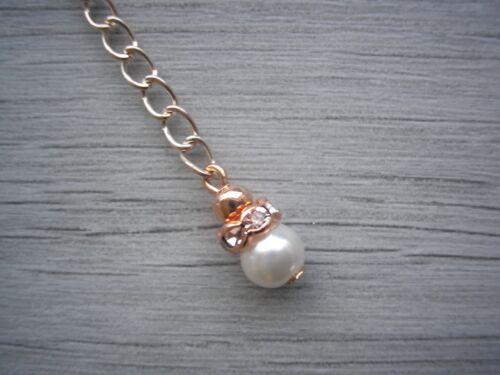 Silver Rose Gold Extender Chain for Necklace Bracelet Anklet Extension EX63W