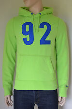 NEW Abercrombie & Fitch Buell Mountain Hooded Sweatshirt Hoody Green L RRP £78