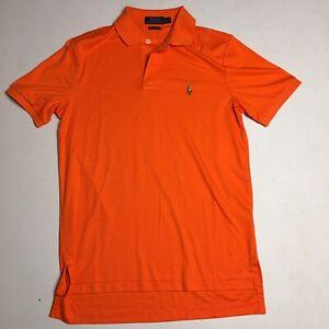 orange ralph lauren t shirt