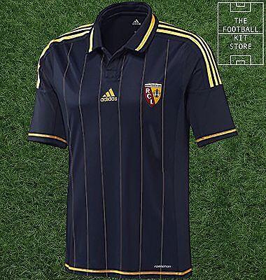 Rc Lens Away Shirt Official Adidas Racing Lens Football Jersey All Sizes Ebay