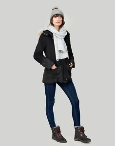 Joules-Toasty-Heavyweight-Beanie-With-Pop-a-pom-ONE-in-GREY-MARL-in-One-Size