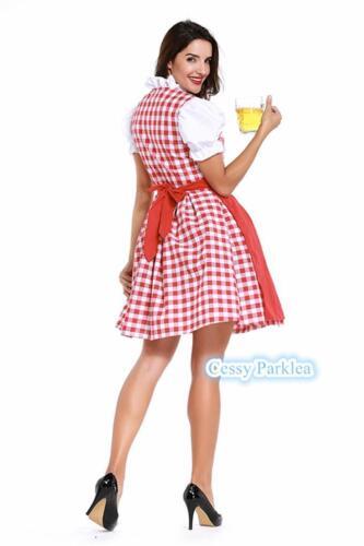 H1 Girls Women Ladies Beer Maid Wench German Heidi Gretchen Oktoberfest Costume