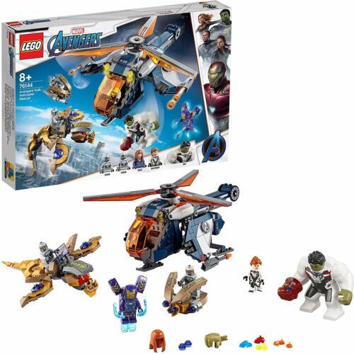 LEGO 76144 Marvel Avengers Endgame Hulk Helicopter Rescue Building Toy Playset