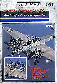 Aires 1 48  Messerschmitt Bf110 G-4 Detail Set for Revell   Monogram kit