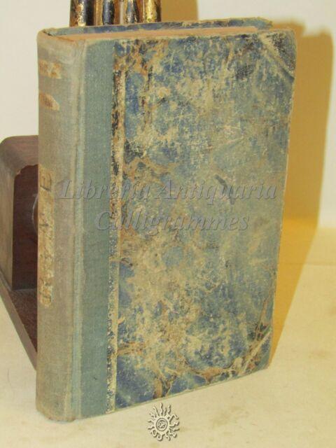 LETTERATURA - RIME di Francesco Petrarca - Sonzogno 1882 INTRO. di G. Leopardi