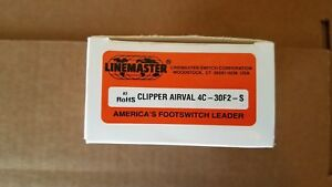 NEW Clipper Airval 4C-30F2-S foot valve