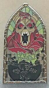 Disney-Pins-DLR-Pin-of-the-month-Windows-of-Evil-Horned-King-From-Black-Cauldron