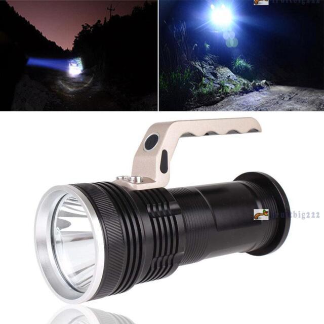 3000LM CREE XM-L T6 Rechargeable Flashligh 18650 Aluminum Handheld Torch Lamp FB