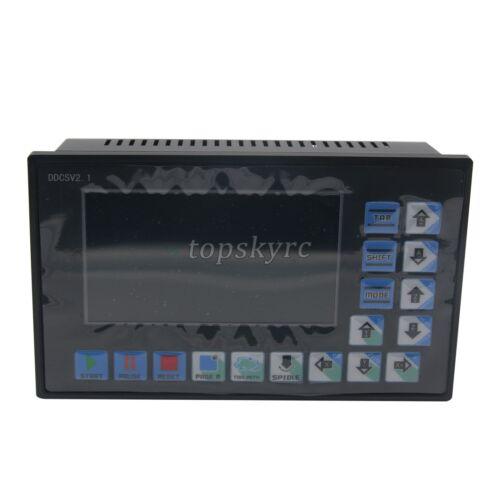 Ddcsv 2.1 500KHz CNC 4-Axis Controlador de máquina de grabado G Código 4GB controlador de la UE Fas
