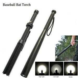 Baseball-Bat-LED-Torch-Q5-Cree-Light-Flashlight-Waterproof-Lamp-18650-Security