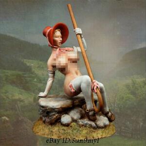 1-24-Nude-Mary-Sexy-Girl-resin-kits-non-peinte-Figure-GK-non-assemble