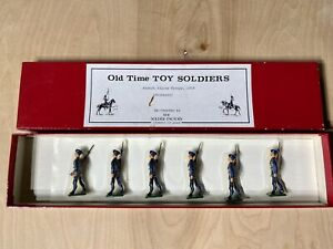 Old-Time-Lead-Toy-Soldiers-French-Alpine-Troops-1914-Britains-Pre-Owned