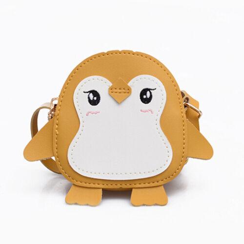 Cute Outdoor Cartoon Penguin Shape Baby Toy School Bag Mini Plush Backpack Kids