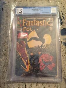 Fantastic-Four-52-First-Appearance-of-the-Black-Panther-CGC-1-5-Marvel-1966