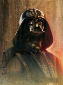 Star-Wars-Master-Anakin-Skywalker-Sith-Lord-Darth-Vader-Painting-Fine-Art-Giclee