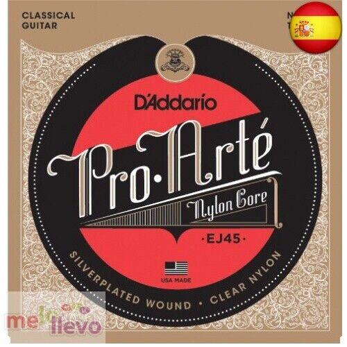 D'Addario EJ45 - Juego de Cuerdas para Guitarra Clásica de (Single Set, Normal)
