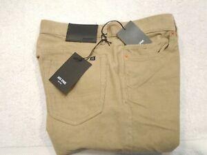Jack-Spade-100-Cotton-5-Pocket-Corduroy-Button-Fly-Pants-NWT-128-30-x-32-Tan