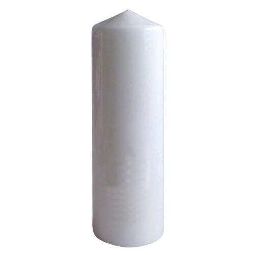 Laternenkerze Stumpenkerze Kerze 300 x 100 mm Kopschitz RAL Qualität Weiß
