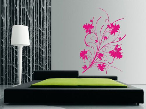 Wall Art Decals Lillies Any Flat surface Lilly Stickers Decorative Flowers