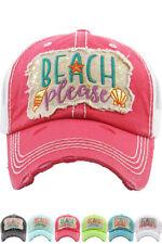 Jinscloset KBETHOS Embroidered Hey You All Ladies Vintage Distressed BaseballCap
