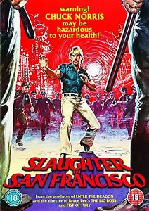Slaughter-In-San-Francisco-DVD-NEW-amp-SEALED-Chuck-Norris