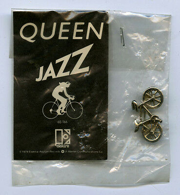 RARE! Original QUEEN Jazz 1978 Elektra Promotional Pin Jewelry