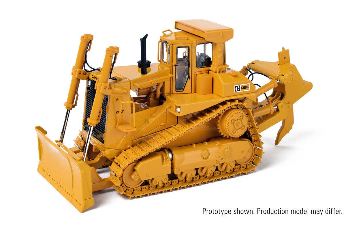 Web oficial      ccm D9L Push Hoja Tractor Con Ripper Caterpillar 1 48 Nuevo En Caja Nueva versión 2019  protección post-venta