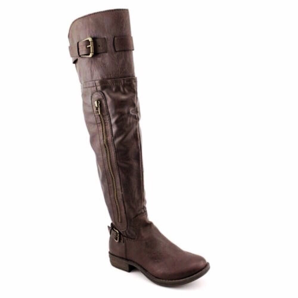 AMERICAN RAG CIF IKEY CHOCOLATE KNEE HIGH WMNS BOOTS SIZE 5M