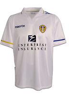 Leeds United (m, Xl) 2011/12 Macron White Home S/s Football Soccer Shirt Jersey